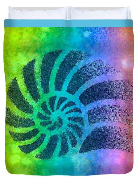 Swim Nautilus 2 Duvet Cover
