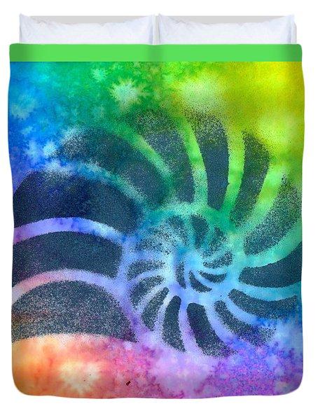 Swim Nautilus Duvet Cover