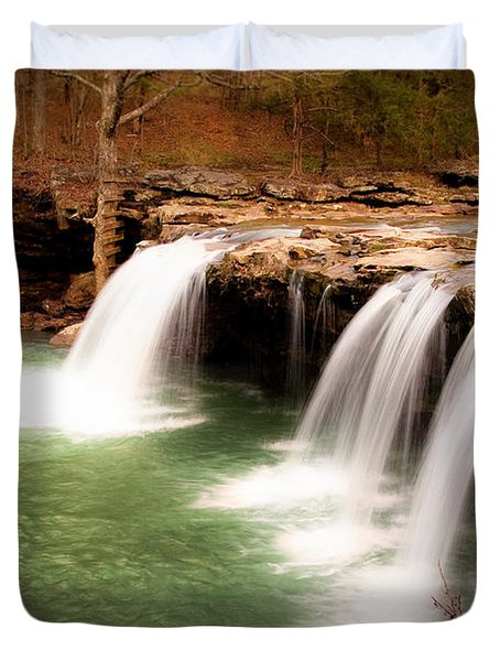 Swimming Hole Duvet Cover by Tamyra Ayles