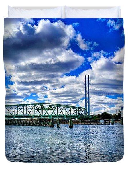 Swing Bridge Heaven Duvet Cover