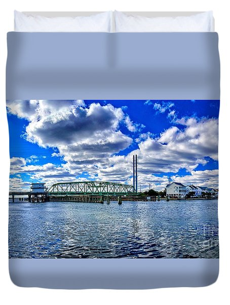 Swing Bridge Heaven Duvet Cover