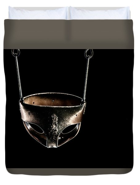 Swing In Black Duvet Cover