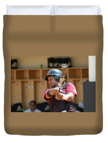 Swing Duvet Cover by Mike Martin