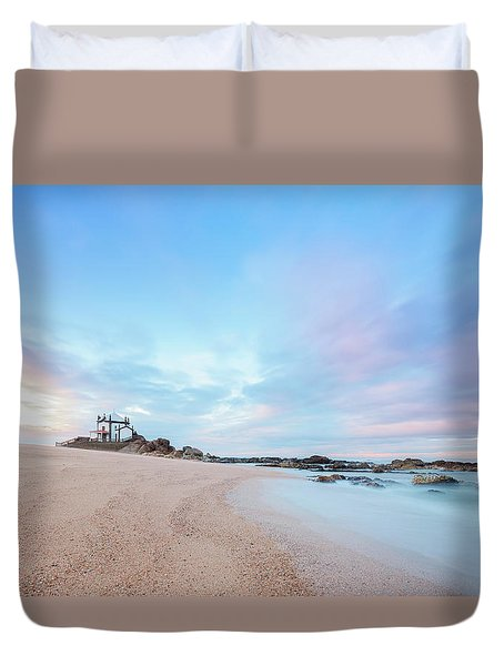 Duvet Cover featuring the photograph Swirl by Bruno Rosa