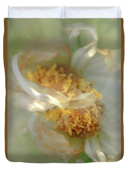 Flower Swirl.... Duvet Cover