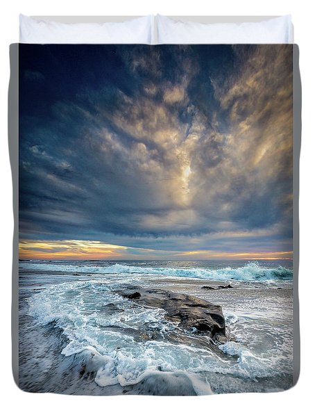 Swirl Duvet Cover by Peter Tellone