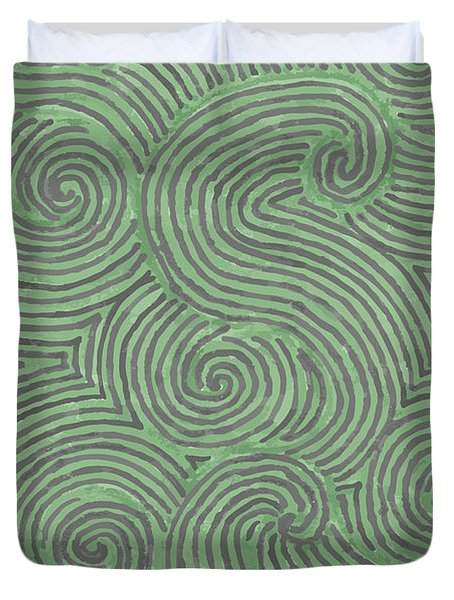 Swirl Power Duvet Cover