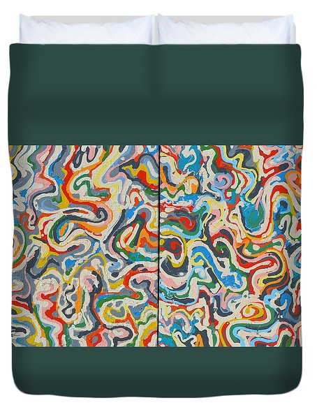Swirls 2 Duvet Cover