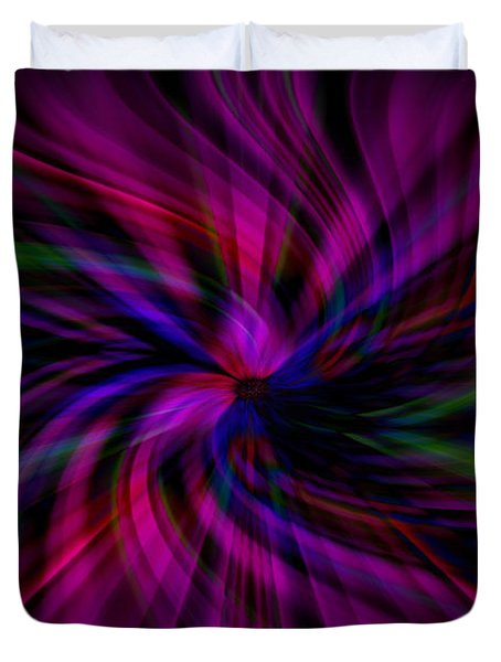Swirls Duvet Cover by Cherie Duran