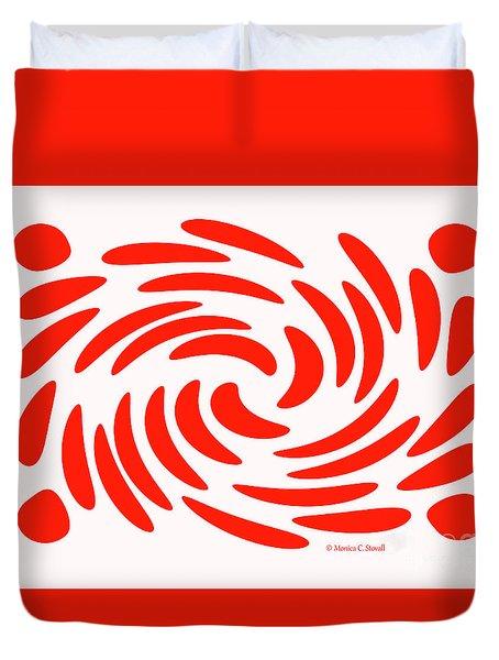 Swirls N Dots S2 Duvet Cover