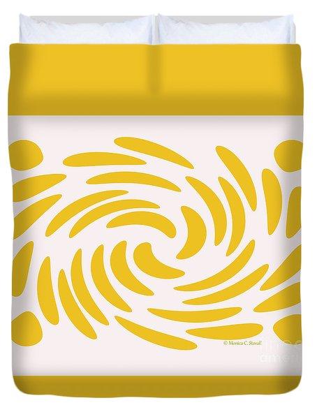 Swirls N Dots S3 Duvet Cover