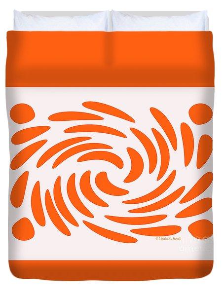 Swirls N Dots S5 Duvet Cover