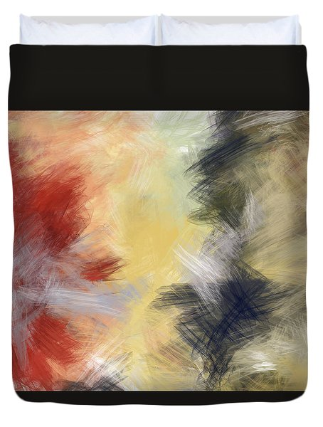 Swish Swish Duvet Cover by Constance Krejci