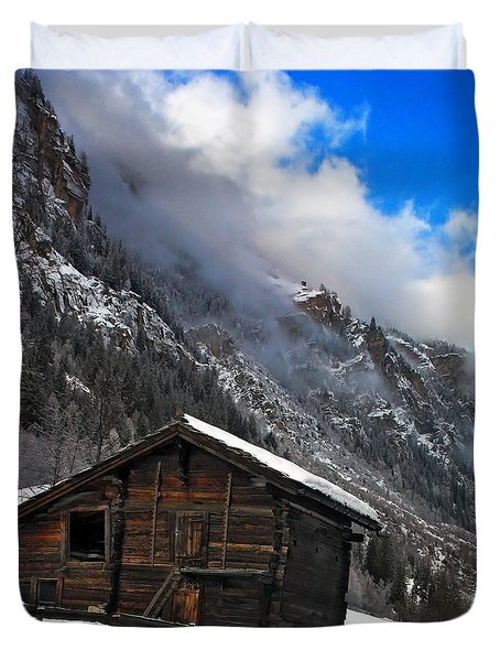Swiss Barn Duvet Cover