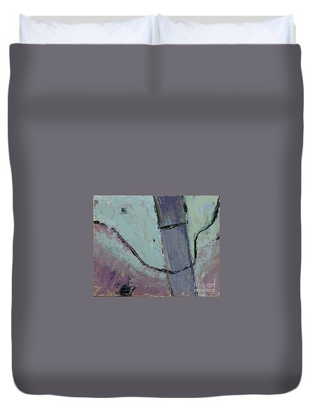 Swiss Roof Duvet Cover by Paul McKey