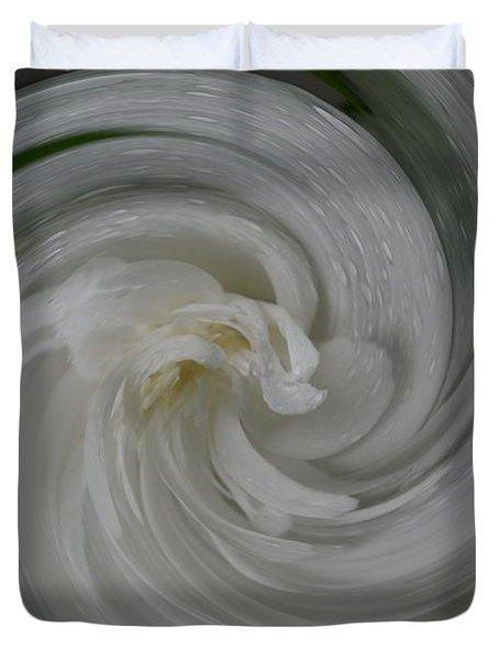 Swrling Rose Duvet Cover