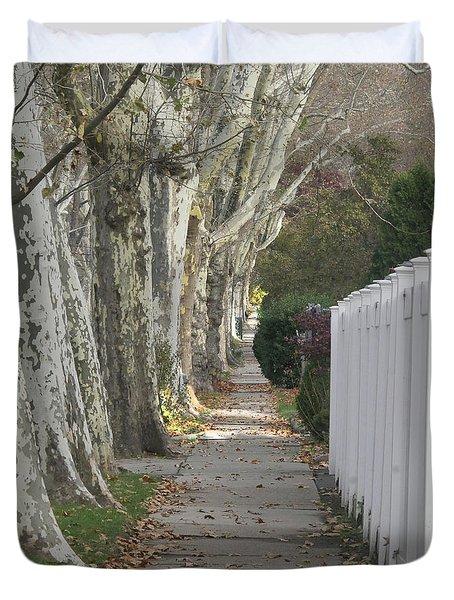 Sycamore Walk Duvet Cover