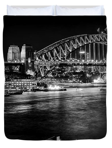 Sydney - Circular Quay Duvet Cover