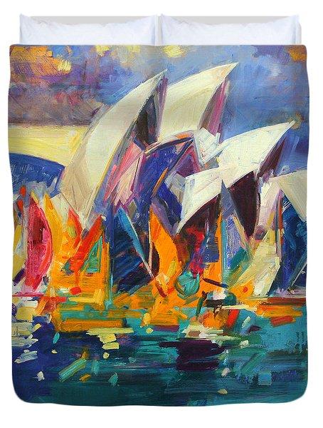 Sydney Flying Colours Duvet Cover