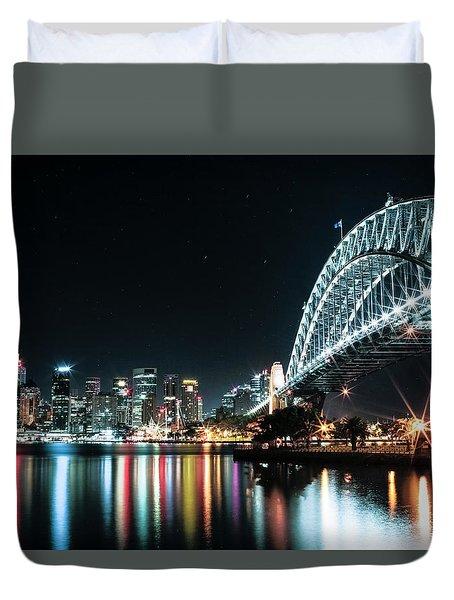 Sydney Harbour Sparkle Duvet Cover