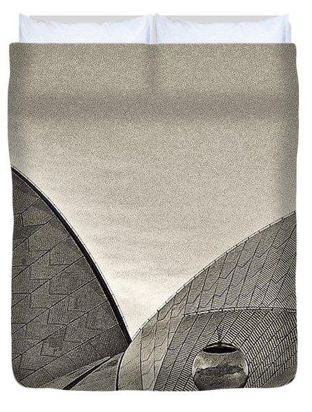 Sydney Opera House Roof Detail Duvet Cover