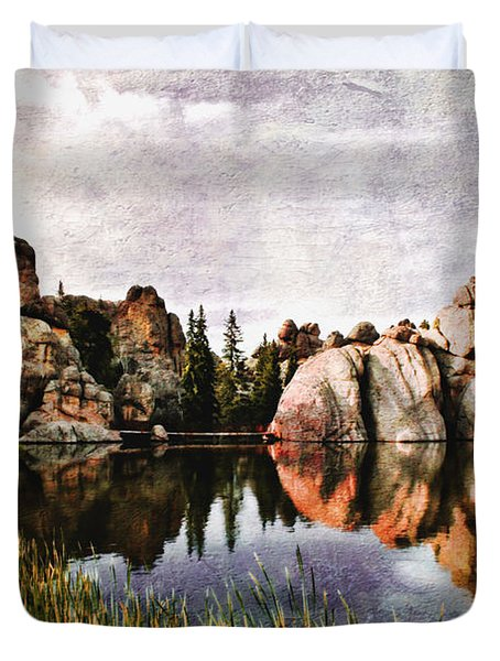 Sylvan Lake - Black Hills Duvet Cover