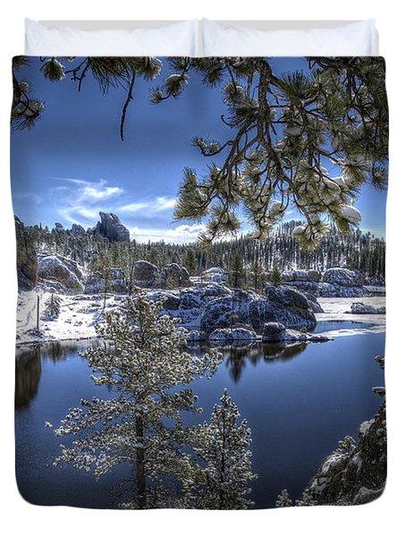 Sylvan Lake Duvet Cover