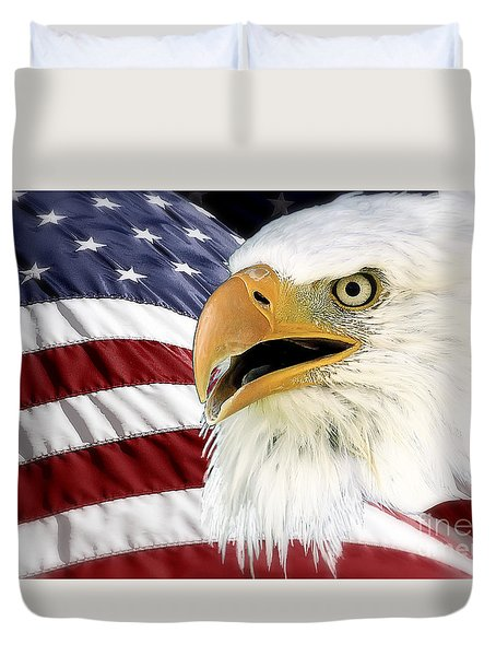 Symbol Of America Duvet Cover