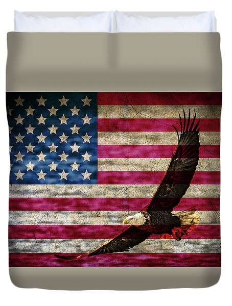 Symbol Of Freedom Duvet Cover