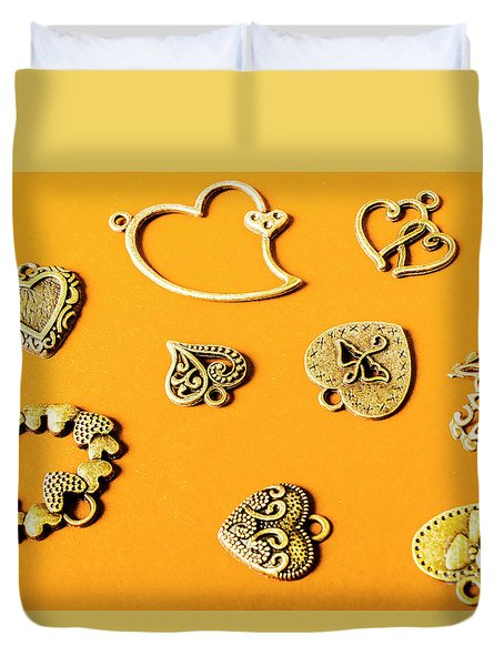 Symbolic Romance Duvet Cover