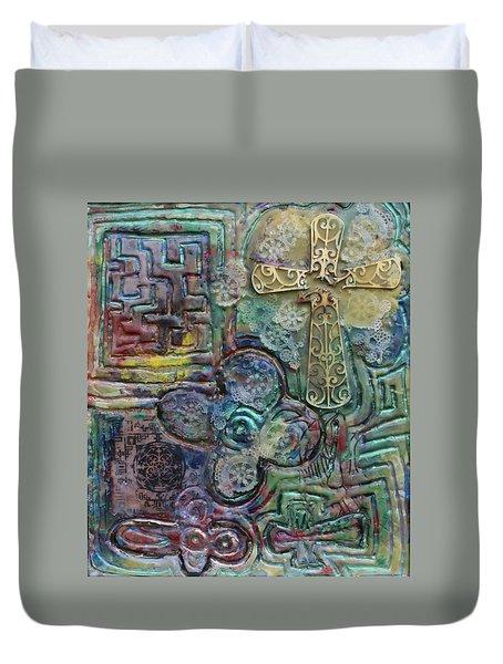 Symbols Duvet Cover