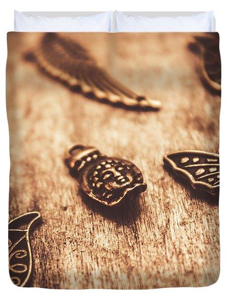 Symbols Of Zen Duvet Cover
