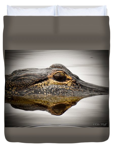 Symmetry And Reflection Duvet Cover