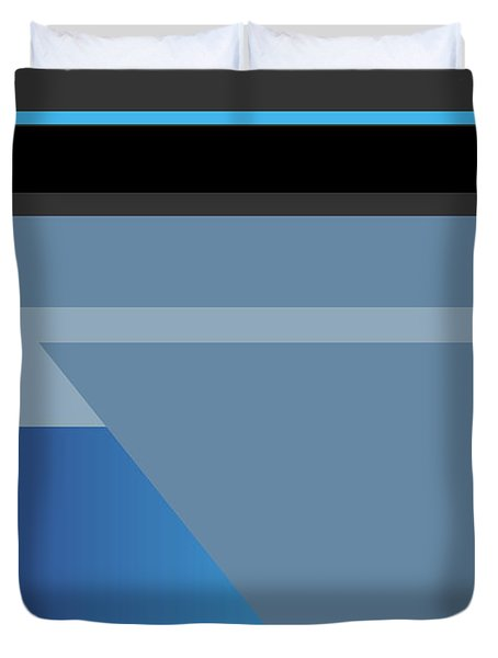 Symphony In Blue - Movement 1 - 1 Duvet Cover