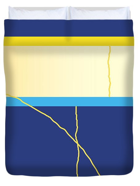 Symphony In Blue - Movement 2 - 2 Duvet Cover