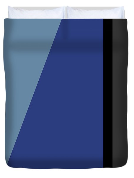 Symphony In Blue - Movement 3 - 3 Duvet Cover