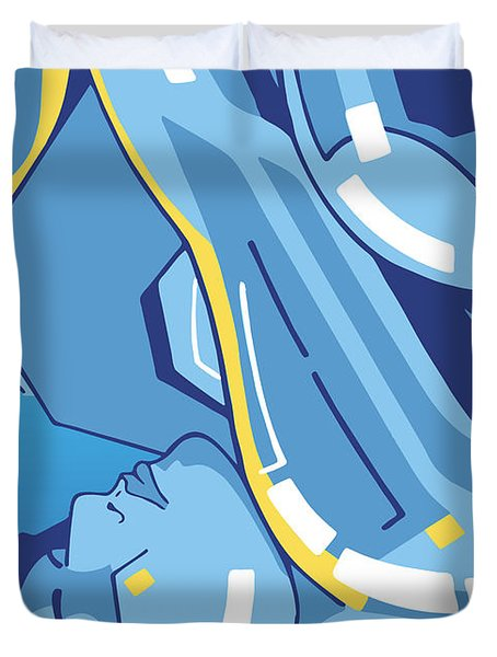 Symphony In Blue - Movement 4 - 2 Duvet Cover