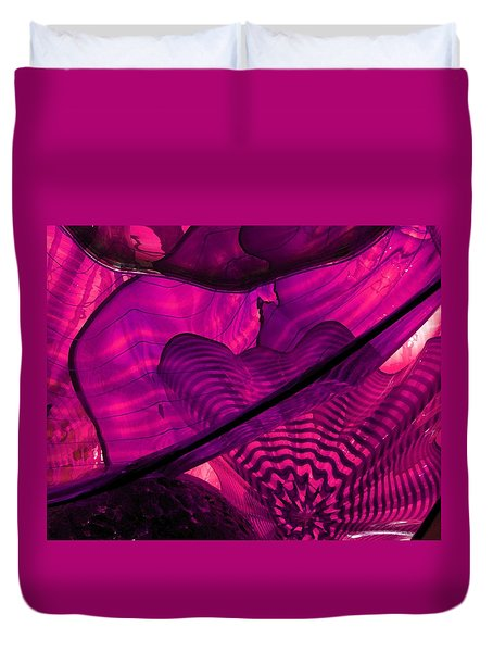 Symphony In Pink Duvet Cover