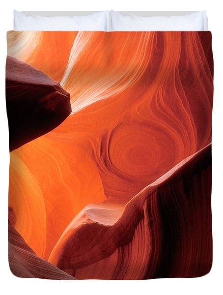 Symphony Of Light Duvet Cover