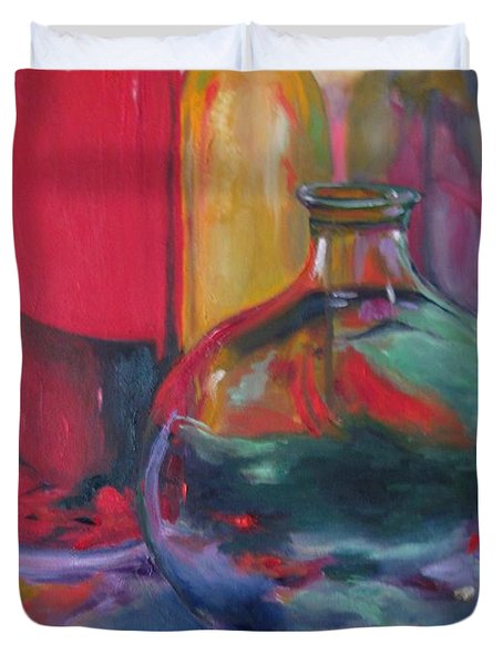 Symphony Of Vases Duvet Cover