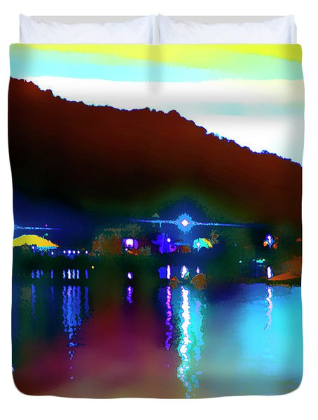 Symphony River Duvet Cover