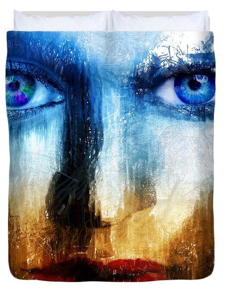 Synaptic Awakening Duvet Cover