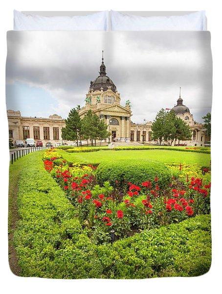 Szechenyi Spa, Budapest Duvet Cover