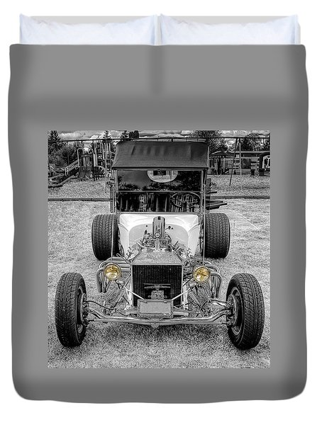 T Bucket Duvet Cover