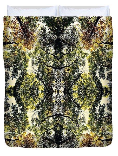 Flip Shot Tree No. 13 Duvet Cover