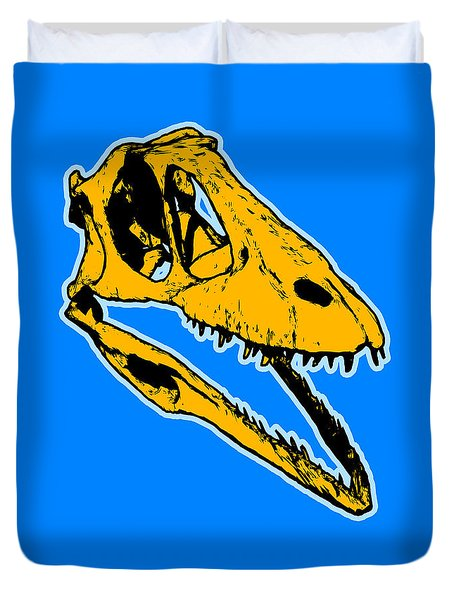 T-rex Graphic Duvet Cover