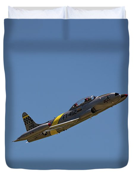 T33 In Flight Duvet Cover
