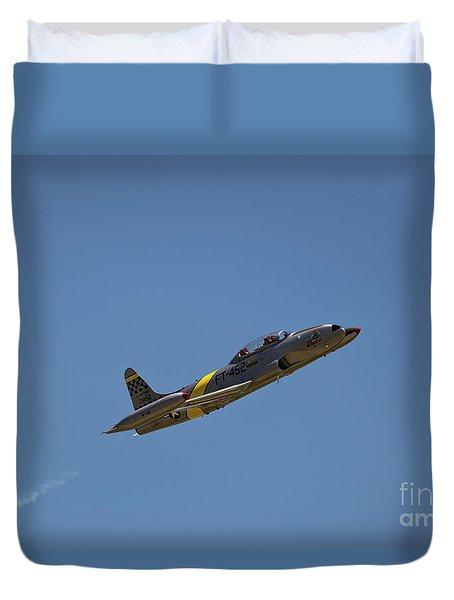 T33 In Flight Duvet Cover