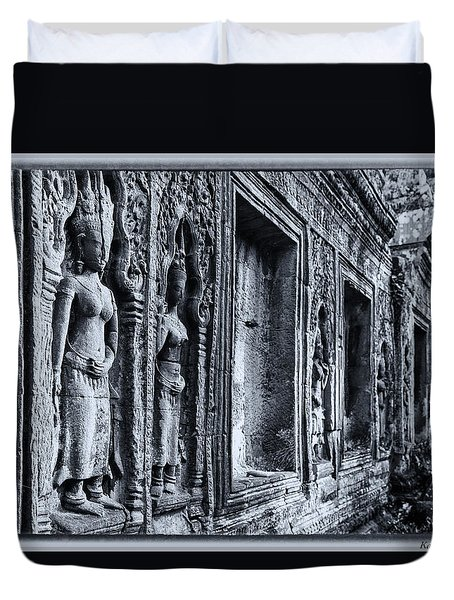 Ta Phrom Cambodia Duvet Cover