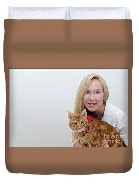 Tabasco And Molly 1 Duvet Cover